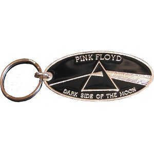 Pink Floyd Dark Side Metal Keychain