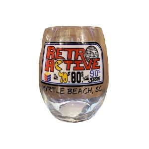 Retro Active Stemless Glass