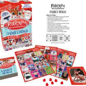 Rudolph Family Bingo