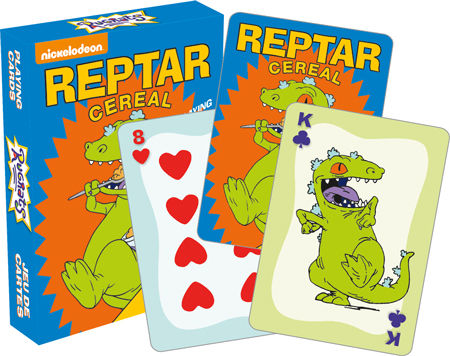 Rugrats Reptar Playing Cards