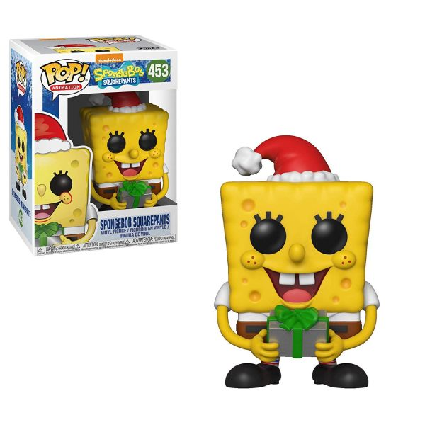 Spongebob Squarepants Holiday Funko Pop Vinyl