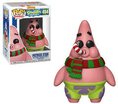 Spongebob Squarepants Holiday Patrick Funko Pop Vinyl