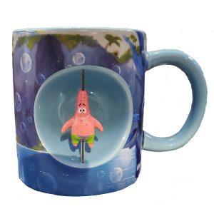Spongebob Squarepants Patrick Spinner Mug