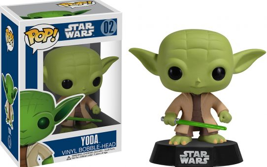 Star Wars Yoda Funko Pop Vinyl