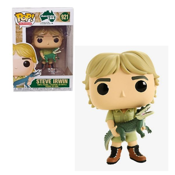 Steve Irwin with Croc Funko Pop Vinyl
