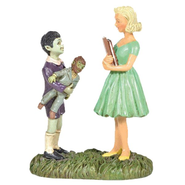 The Munsters Eddie and Marilyn Figure