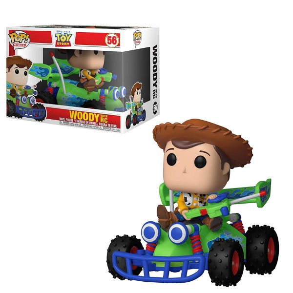 Toy Story Woody with RC Funko Pop Vinyl