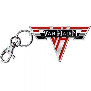 Van Halen Metal Keychain