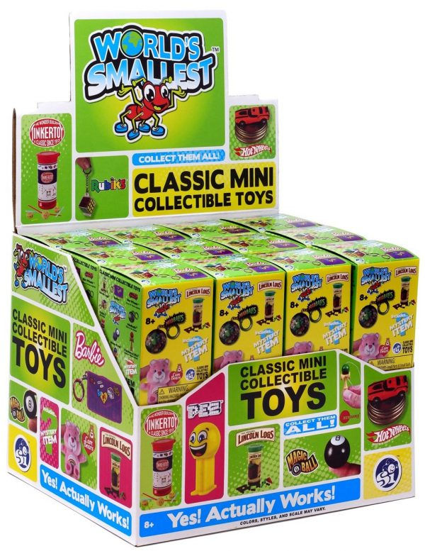 World's Smallest Classic Mini Toys Mystery Box