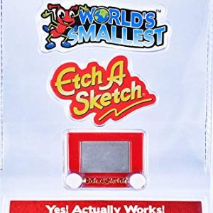 World's Smallest Etch a Sketch