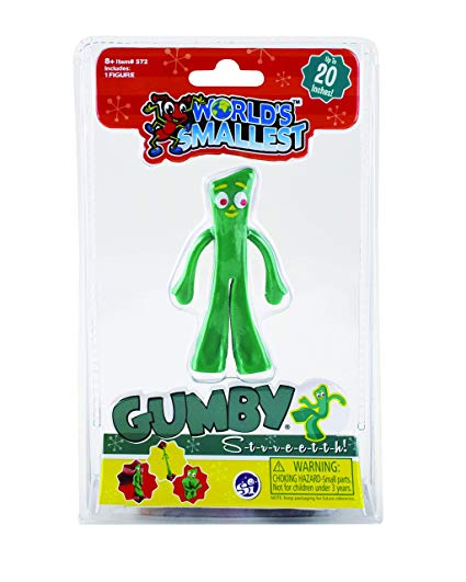 World's Smallest Gumby