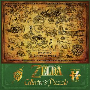 Zelda Hyrule 500pc Puzzle