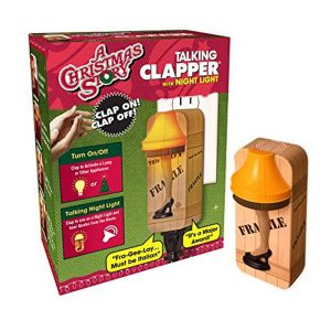 A Christmas Story Leg Lamp Talking Clapper Night Light
