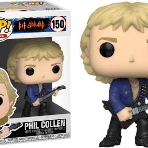 Def Leppard Phil Collen Funko Pop Vinyl
