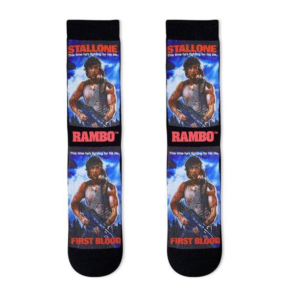 Rambo First Blood Socks