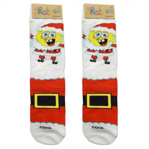 Spongebob Squarepants Christmas Socks