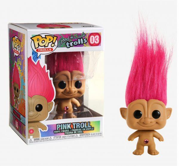Good Luck Trolls Pink Troll