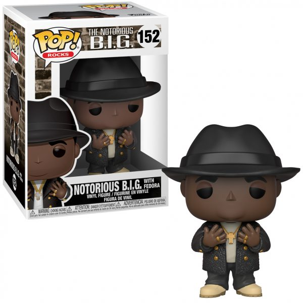 Notorious B.I.G. with Fedora Funko Pop Vinyl