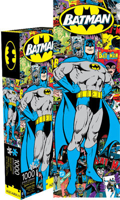 Batman 1000pc Slim Puzzle