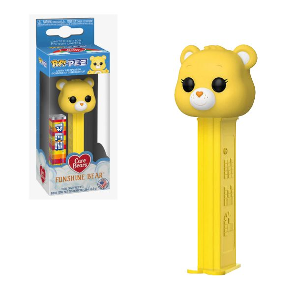 Care Bear Funshine Bear PEZ