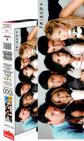 Friends Milkshake 1000pc Slim Puzzle