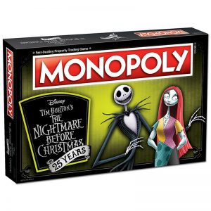 Nightmare Before Christmas Monopoly