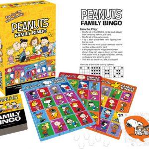 Peanuts Family Bingo