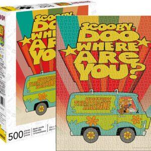 Scooby Doo 500pc Puzzle