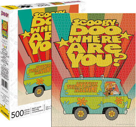 Scooby Doo 500pc Puzzle