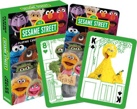 Sesame Street Playing Cards