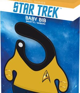 Star Trek Commander Baby Bib