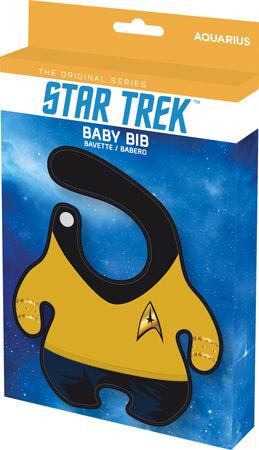 Star Trek Commander Baby Bib