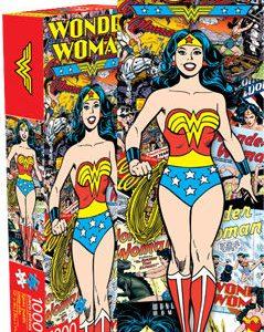 Wonder Woman 1000pc Slim Puzzle