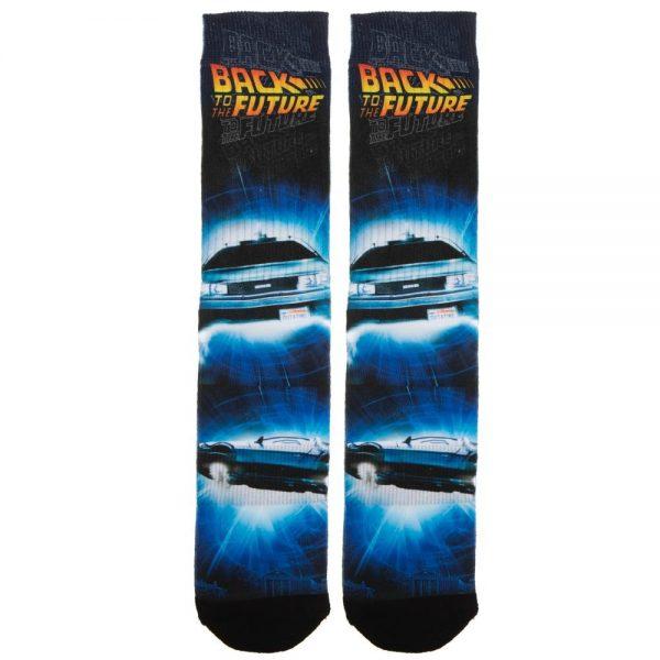 Back to the Futre DeLorean Socks