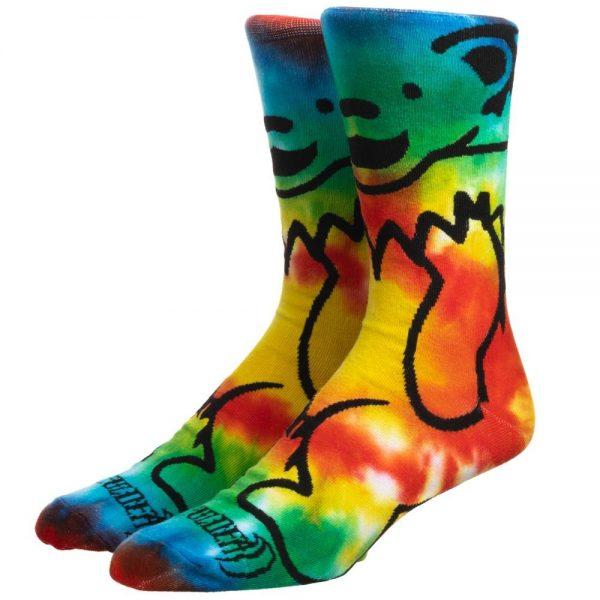 Grateful Dead Tye Dye Bear Socks