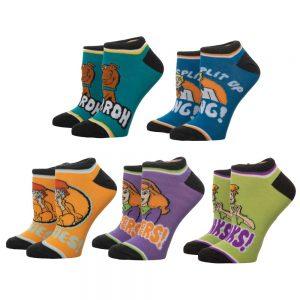 Scooby Doo 5pk Socks