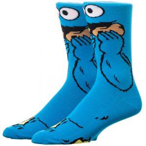 Sesame Street Cookie Monster Socks