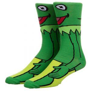 The Muppets Kermit Socks