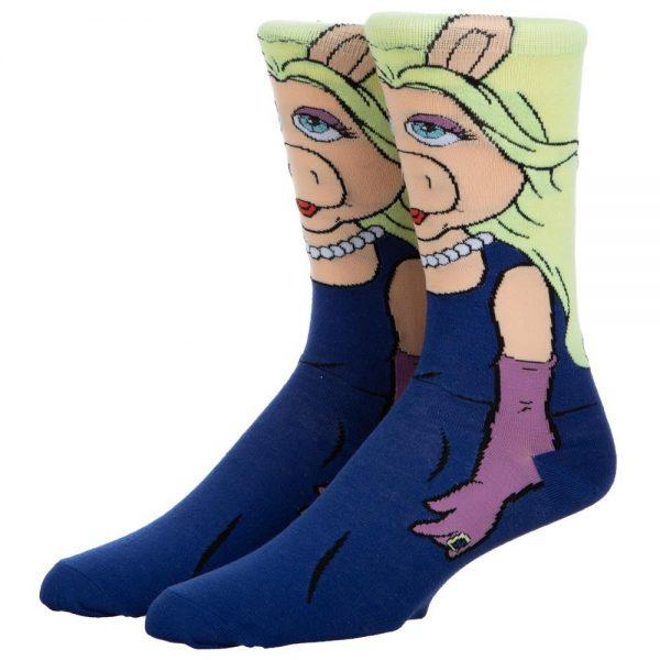 The Muppets Miss Piggy Socks