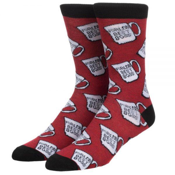 The Office World's Best Boss Socks