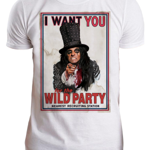 Alice Cooper Wants You
