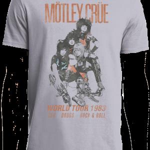 Motley Crue World Tour 1983