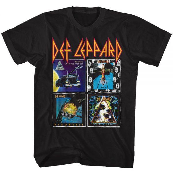 Def Leppard 80s Albums