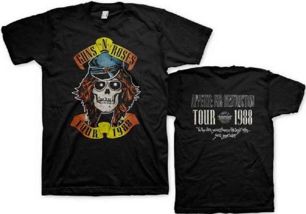 Guns N Roses Appetite Tour 1988