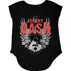 Johnny Cash Angel Wings Juniors