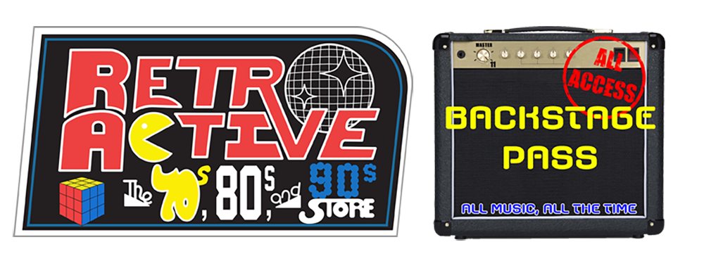 Shop Retro Active And Backstage Pass The Best Of Pop Culture Of The 70s 80s 90s Beyond
