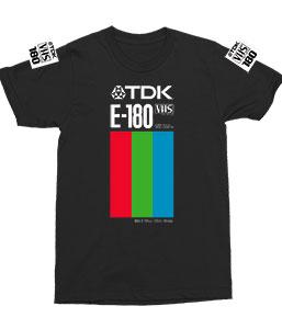 TDK E-180 VHS