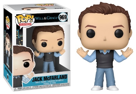 Will & Grace Jack Funko Pop Vinyl
