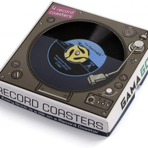 45 Record Coasters 4pk