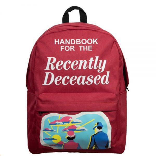 Beetlejuice Recently Deceased Backpack